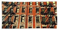 Sun And Shadow - The Rhythm Of New York Bath Towel