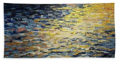 Sun And Wind On Water Bath Towel