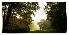 Sun Beams In The Distance Bath Towel