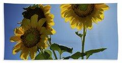 Sun Flowers Hand Towel