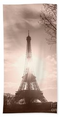 Sun In Paris Hand Towel