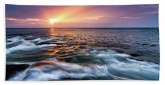 Sun Rays, Halibut Pt. Rockport Ma. Bath Towel
