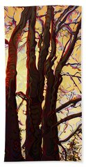 Sun-shielding Gallantrees Hand Towel