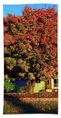 Sun-shining Autumn Bath Towel