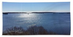 Sun Shiny Casco Bay Hand Towel