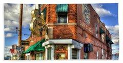 Sun Studio Rock N Roll Birthing Place Memphis Tennessee Art Hand Towel