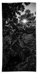 Sun Through The Trees Bath Towel
