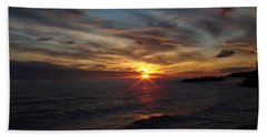 Bath Towel featuring the photograph Sun Up by Bonfire Photography