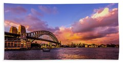Bath Towel featuring the photograph Sun Up by Perry Webster