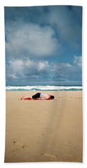 Sunbather Hand Towel