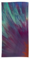 Sunburst Aura Bath Towel