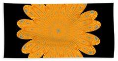 Sunburst Bloom Bath Towel