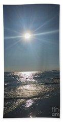 Sunburst Reflection Bath Towel