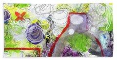 Sunday Market Flowers 3- Art By Linda Woods Hand Towel