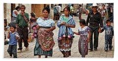 Sunday Morning In Guatemala Hand Towel