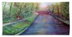 Sunday On The Towpath Hand Towel