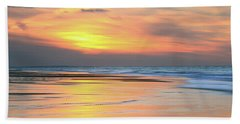 Sundown At Race Point Beach Hand Towel by Roupen  Baker