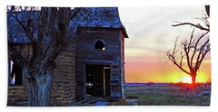 Sundown Church Hand Towel