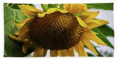 Sunflower Art II Bath Towel