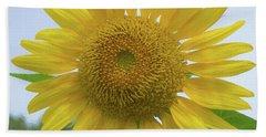 Sunflower Art Whole Hand Towel