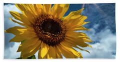 Sunflower Brilliance II Bath Towel