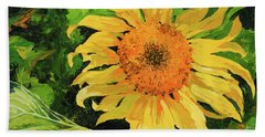 Sunflower Hand Towel