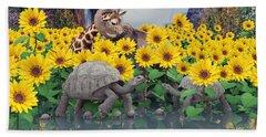 Sunflower Daydream  Hand Towel