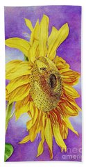 Sunflower Gold Hand Towel
