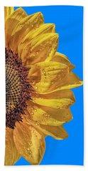 Sunflower In The Sun Hand Towel