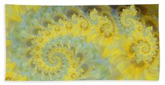 Sunflower Infused Bath Towel