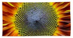 Sunflower Mendala Hand Towel