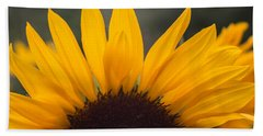Sunflower Petals Hand Towel