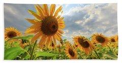 Sunflower Star Hand Towel