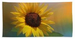 Sunflower Summer Hand Towel