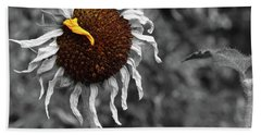 Sunflower- The End Of Summer Hand Towel