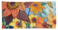 Sunflower Tropics Part 1 Hand Towel
