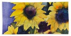 Sunflowers 17 Hand Towel