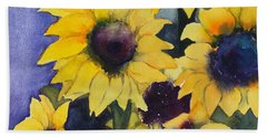 Sunflowers 17 Bath Towel