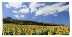 Sunflowers In Waialua Hand Towel
