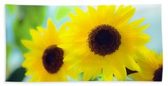 Sunflowers Bath Towel