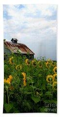 Sunflowers Rt 6 Bath Towel