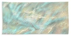 Hand Towel featuring the digital art Sunlight On Water by Amyla Silverflame