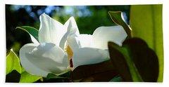 Sunlit Bloom Hand Towel