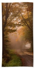 Serenity Of Fall Hand Towel