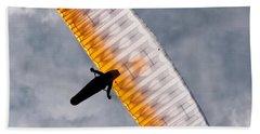 Sunlit Paraglider Hand Towel