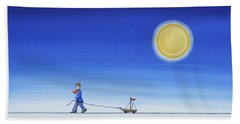 Sunny Afternoon Hand Towel