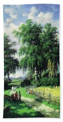 Sunny Afternoon In The Meadows Hand Towel