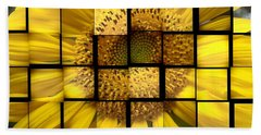 Sunny Composition Hand Towel