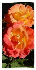 Sunny Roses Hand Towel
