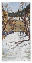 Sunny Street, Valledemossa Hand Towel